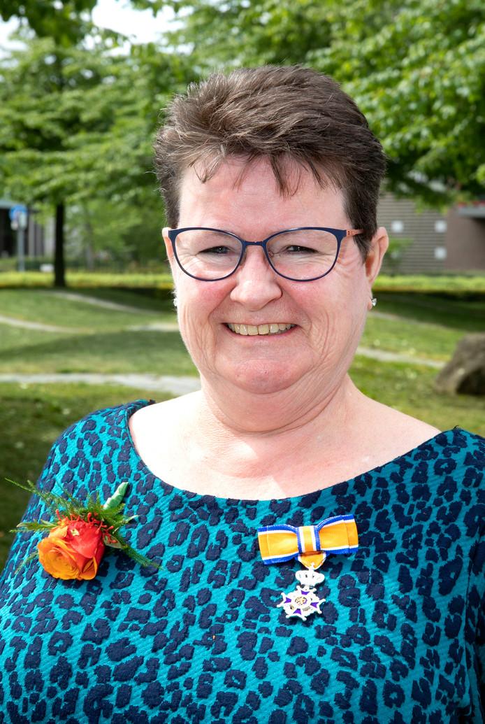 Sjan van den Born - Van Roosmalen in Veldhoven.