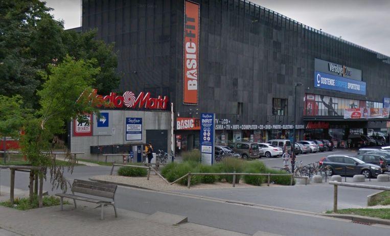 De MediaMarkt in Oostende.