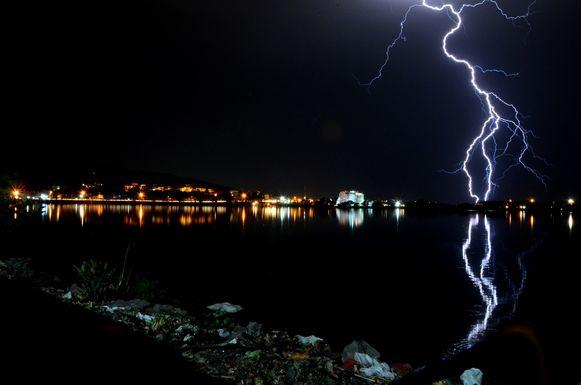 In de Indiase staat Bihar zijn zeker 39 mensen om het leven gekomen door een blikseminslag (archiefbeeld ter illustratie).