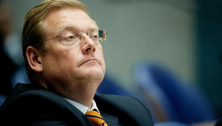 Minister Ard van der Steur adviseerde als kamerlid zijn voorganger over de Teevendeal maar meldde dat niet aan de Tweede Kamer, aldus Nieuwsuur. Beeld ANP