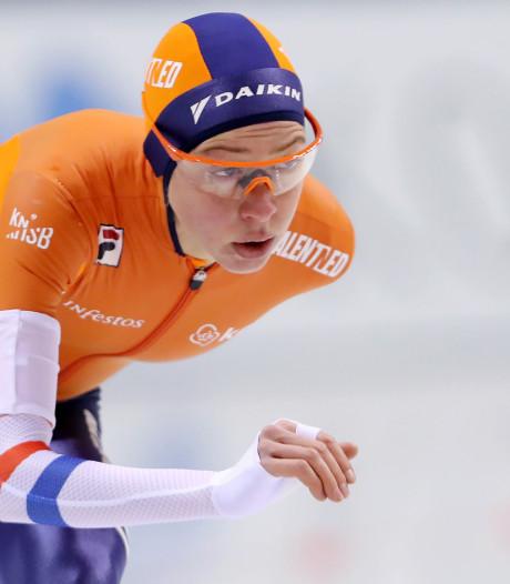 Esmee Visser wint 5000 meter in Tomaszów Mazowiecki