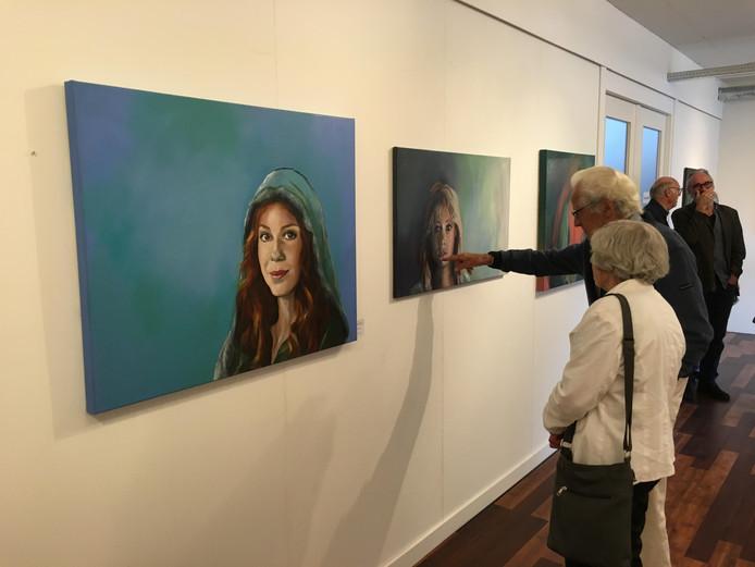 De expositie is geopend.