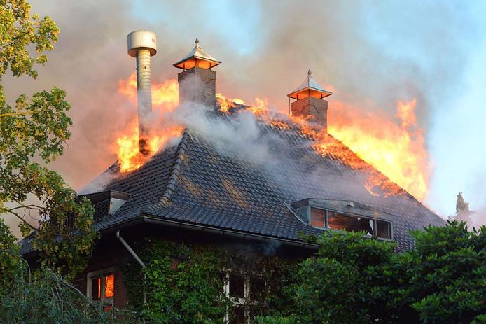 Brand na oefening in Den Hoppenhof Geldrop