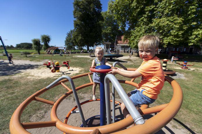 Hoogspel in Delden, een mooie 'uitspanning'