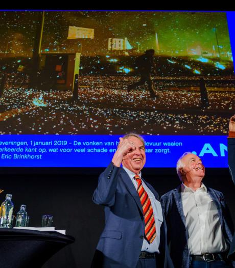 Eric Brinkhorst wint met foto van vonkenregen de Jos van Leeuwen Fotoprijs 2019