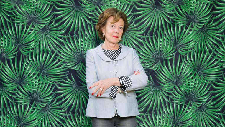 Neelie Kroes: 'Bij gelijke geschiktheid heb ik altijd voor een vrouw gekozen.' Beeld Ivo van der Bent