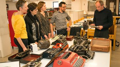 Expo toont collectie typemachines W.F. Hermans
