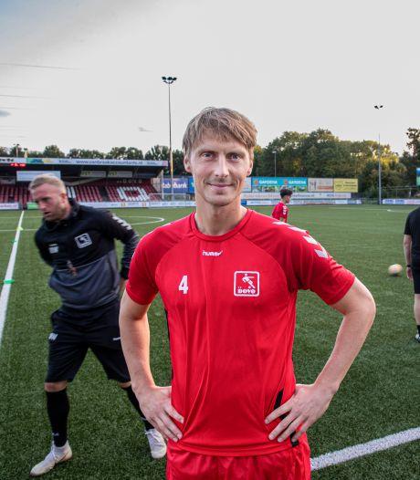 DOVO-aanvoerder Barry Beijer voor drie wedstrijden geschorst