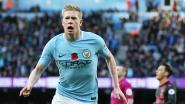 Top in toppers: scorende De Bruyne zet Man. City op weg naar winst tegen Arsenal