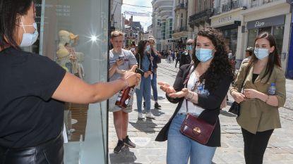Mondmaskers verplicht in centrum van Gent, maar ook op drukke assen zoals Bevrijdingslaan en Wondelgemstraat