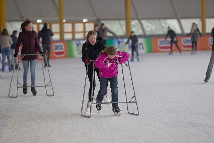 IJspret op de Eindhovense ijsbaan