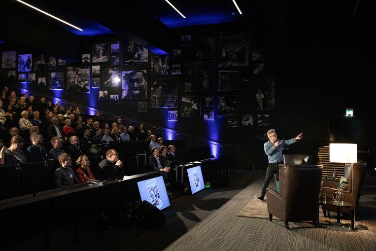 BlueHealth Innovation Center organiseerde een panel gesprek met bekende Limburgers Marcel Vanthilt, Wouter Beke en Griet Vander Velpen over hoe technologie ons kan helpen langer en gezonder te leven, naar aanleiding van het televisieprogramma van Marcel Vanthilt.