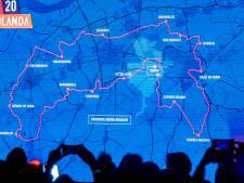 Stampersgat is het enige Halderbergse dorp waar de Vuelta langs komt