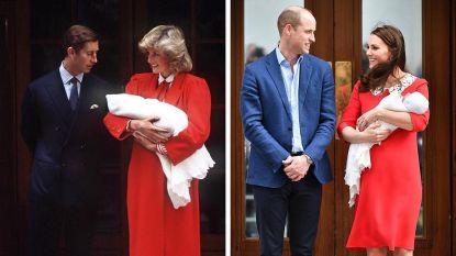 Zoek de verschillen: Kate Middleton brengt ode aan prinses Diana met outfit