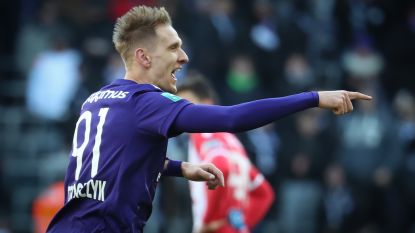 Hattrick van Teo helpt Anderlecht en Coucke aan 5-3 tegen Moeskroen