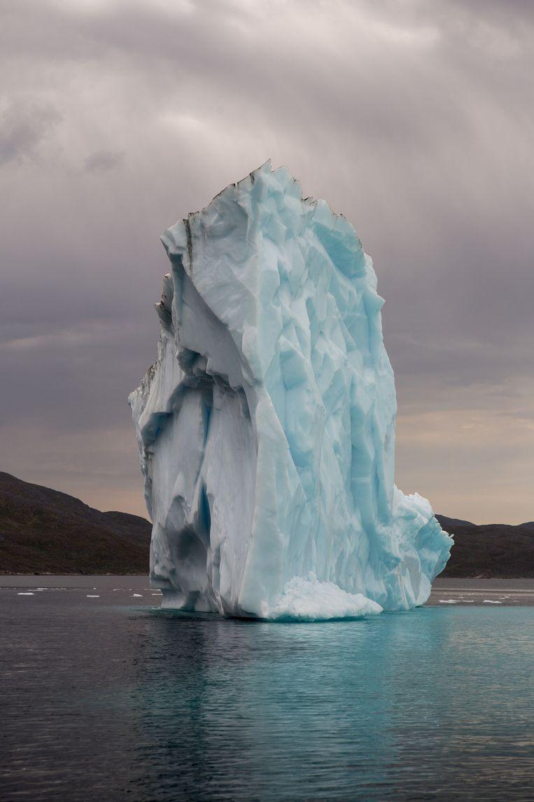 Van Groenland blijkt in het Eem-tijdperk meer gesmolten dan gedacht. Beeld Mike Roelofs