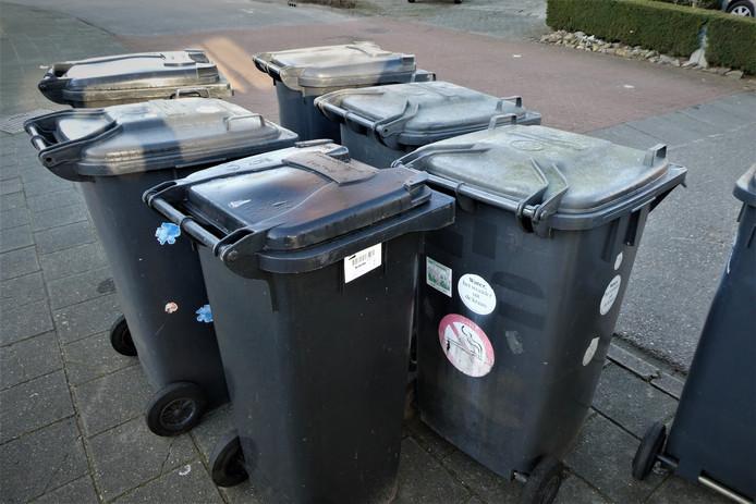 Afval aan de straat zetten wordt fors duurder in Gestel.