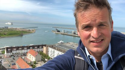 Arnout Hauben start 'Rond de Noordzee' in Brugge