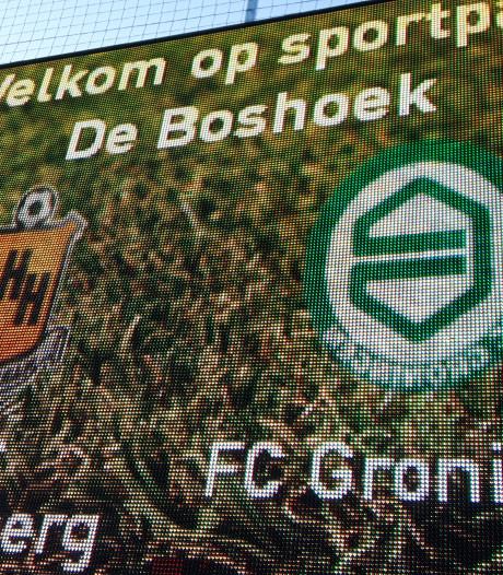 HHC Hardenberg verliest nipt voor eigen publiek oefenduel tegen FC Groningen