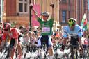 Mathieu van der Poel toonde in de Tour of Britain aan in topvorm te zijn.