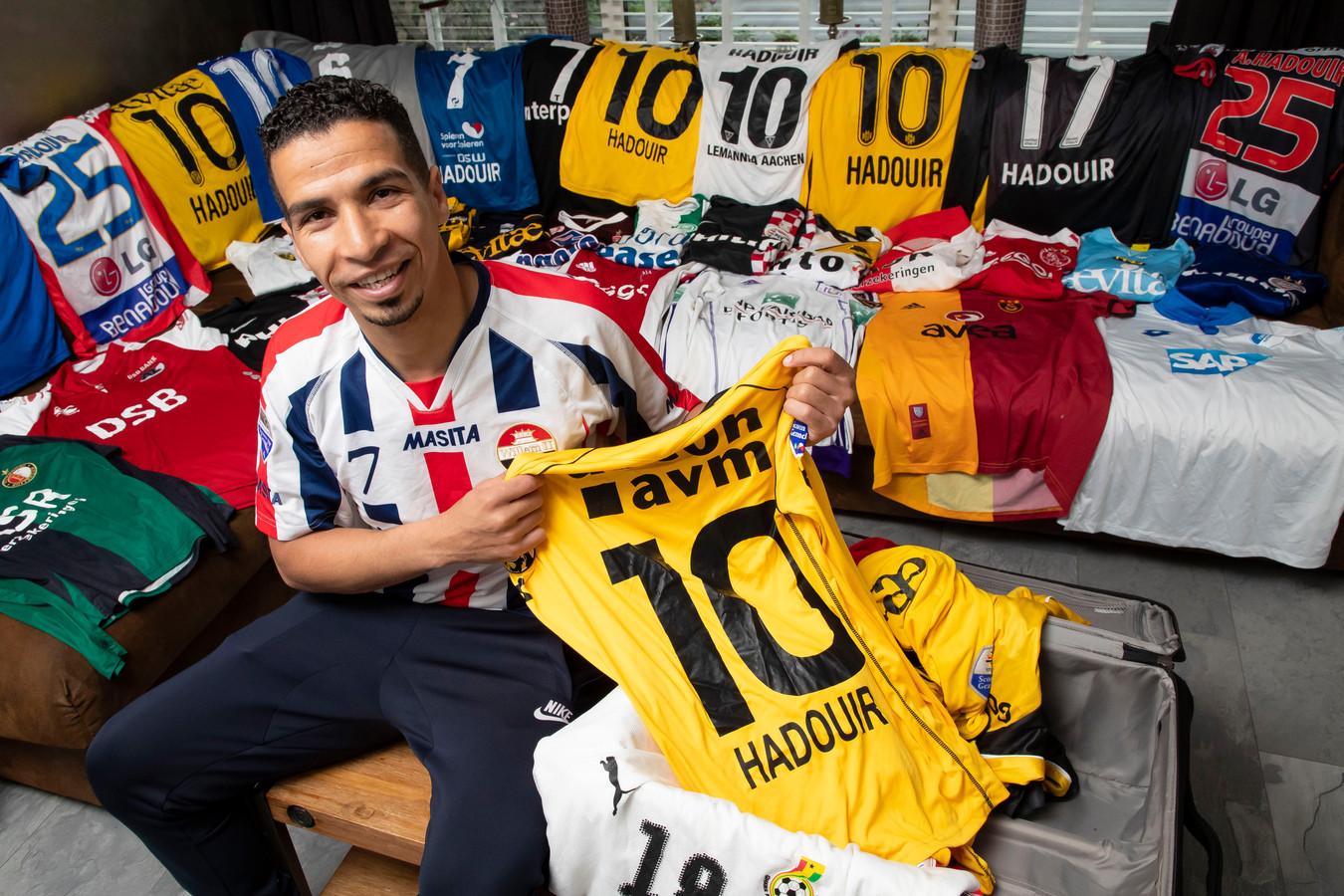 Anouar Hadouir sloot afgelopen zomer een rijke profvoetballoopbaan af.