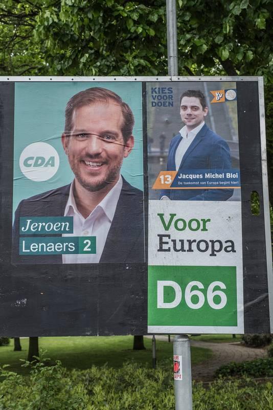 In Nederland zijn de verkiezingen donderdag.