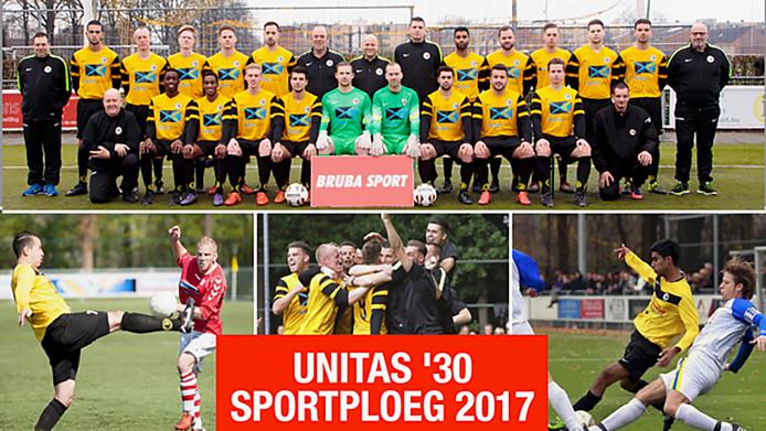 Unitas '30 Sportploeg van het jaar 2017