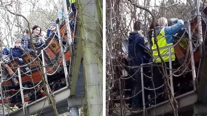 'De Draak' vast in Plopsaland: 38 inzittenden geëvacueerd