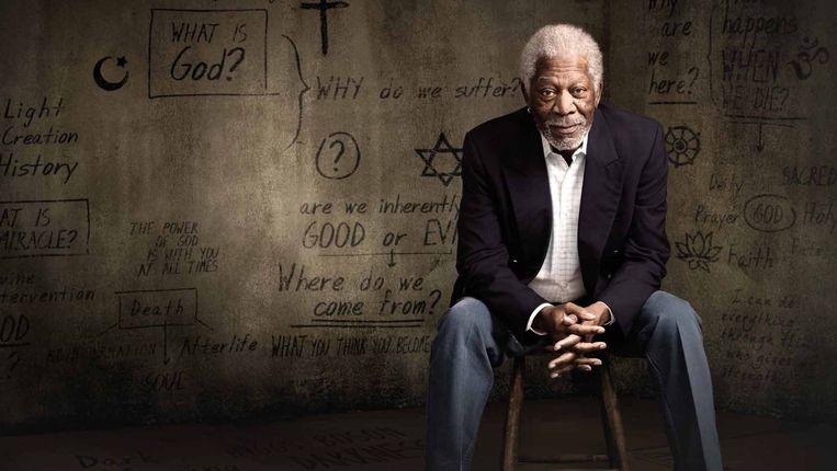 The story of God with Morgan Freeman. Beeld