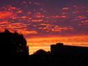 Zonsondergang boven Holtenbroek