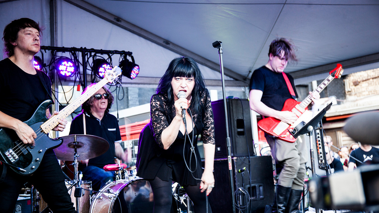 Lydia Lunch. Beeld