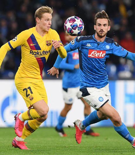 LIVE | Barça met De Jong tegen Napoli, Maatsen op de bank bij Chelsea