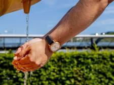 Extra waterpost in verband met hoge temperaturen tijdens Gooise Heideloop