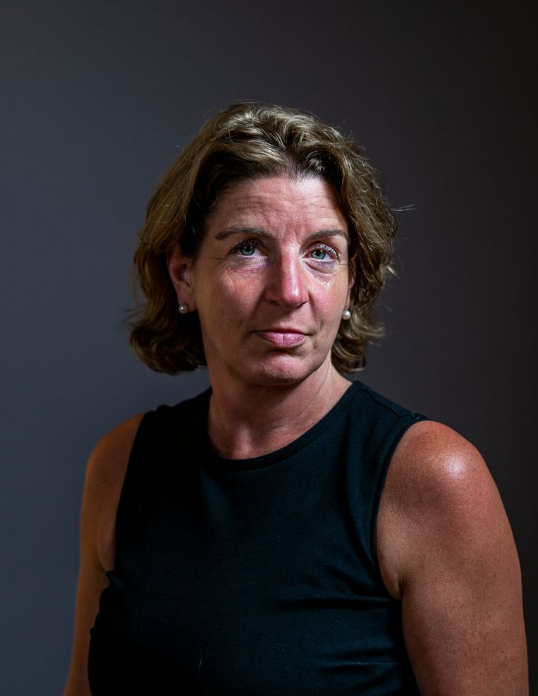 Locatiemanager Inge van Loo: 'Ze zeiden: al is de patiënt positief, dat verandert toch niks aan de behandeling.' Beeld Jiri Büller