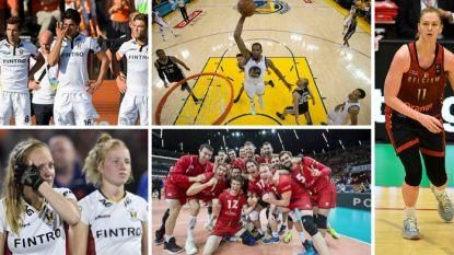 Iedereen op de pot, dat verdomd Oranje en de kroonprinses die overneemt: ook in het basketbal, hockey én volleybal viel er in 2017 heel wat te beleven