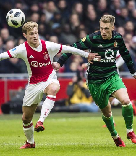 Feyenoord mist Jørgensen tegen FC Utrecht