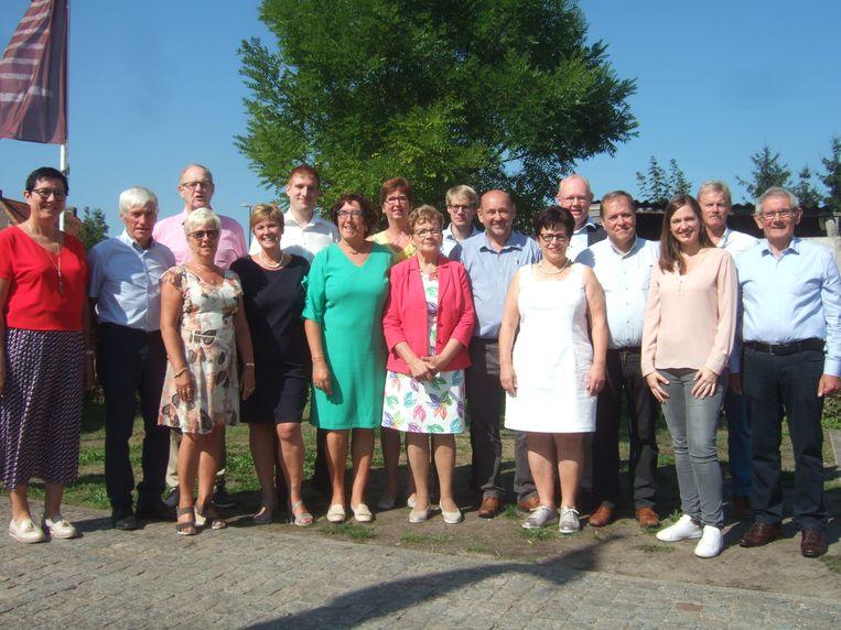 Met deze ploeg trekt CD&V in Sint-Laureins naar de kiezer.