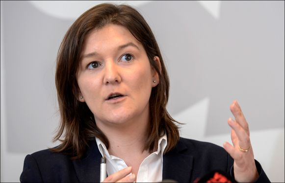 """""""Dit is tijdelijk: ik ben geen kandidaat om effectief nationaal partijvoorzitter te worden"""", zegt Cindy Franssen."""