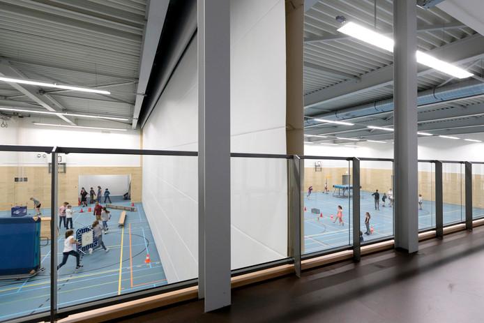Nu gymmen er nog alleen de schoolkinderen van Haaren maar vanaf volgende weer ook de Haarense sportclubs.