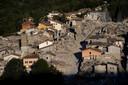 Amatrice werd op 24 augustus 2016 getroffen door een zware aardbeving.
