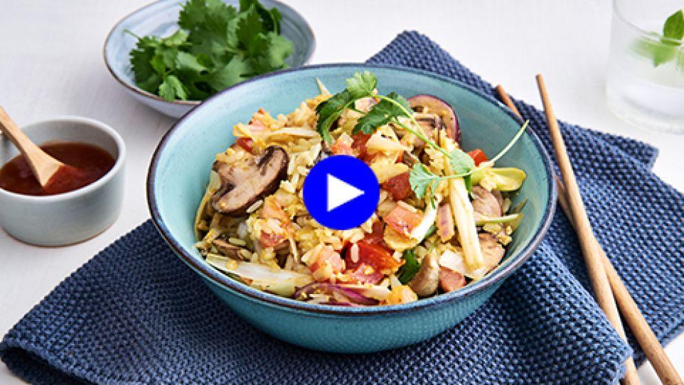 In een wip gewokt: zo maak je snel de perfecte pittige rijstschotel