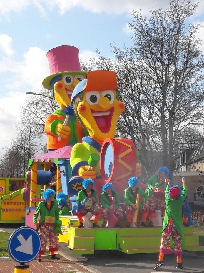Carnavalsoptocht Westerhoven.