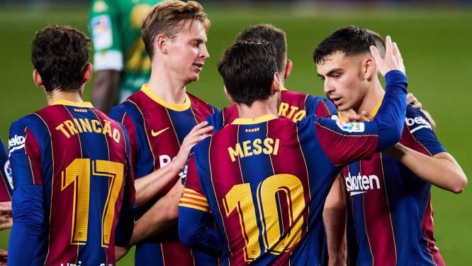 Onderhandelingen bij FC Barcelona over forse salarisverlaging opgeschort