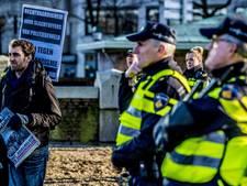 Protest tegen politiegeweld Mitch Henriquez rustig verlopen
