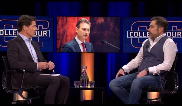 Klaas Dijkhoff blikt bij College Tour terug op 'een rotweek'