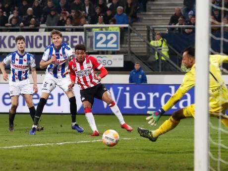 Gammel PSV beperkt schade op wilskracht