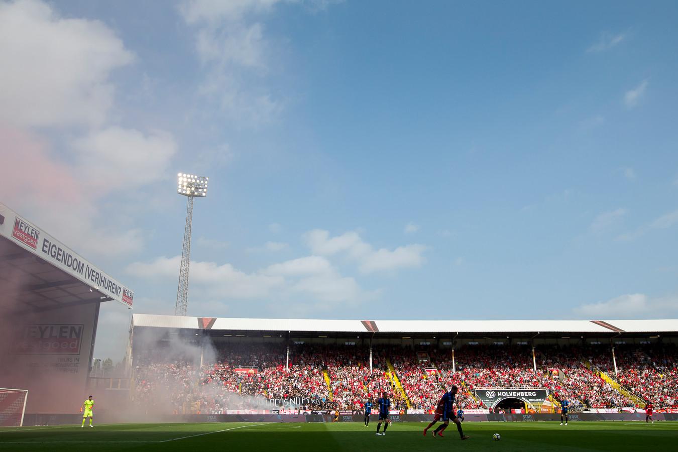 De Bosuil in Antwerpen is het decor van een vriendschappelijke wedstrijd tussen Vitesse en Royal Antwerp FC. Het duel is niet toegankelijk voor publiek.