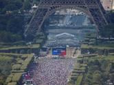 Fotoserie: Zo kijkt Parijs naar de WK-finale