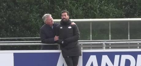Guus Hiddink ziet fraaie treffers op de Herdgang