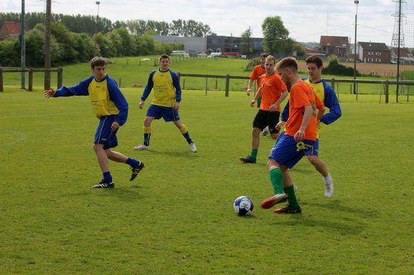 Illustratiebeeld voetbaltoernooi
